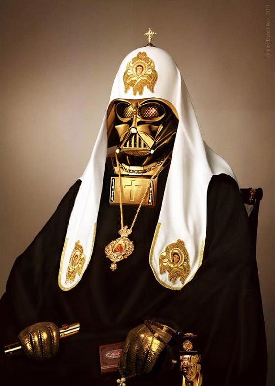 Darth Vader Pope